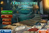 Dreamscapes: The Sandman (Collector's Edition) iPhone Title and main menu (free trial)