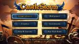 CastleStorm PS Vita Main menu (Trial version)