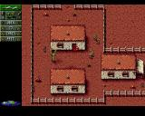 Cannon Fodder Amiga Canyon level