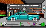 Street Rod: Data Disk DOS Your garage. This stock 1939 Pontiac two-door coupe is one of the starter cars that you can afford to buy at the start of the game.
