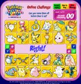 Pokémon Puzzle Challenge: Online Challenge Browser Of course I got it right. I've been playing Pokémon since 1998.