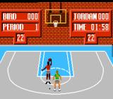 Jordan vs Bird: One on One NES Bird takes Jordan on