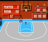 Jordan vs Bird: One on One NES He's up! He... misses!