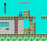 Mega Man NES Cutman's stage