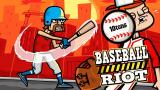 Baseball Riot PS Vita Title screen (Trial version)