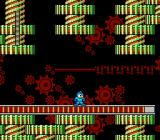 Mega Man 2 NES Metal Man's stage
