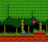 Mega Man 2 NES Wood Man's stage