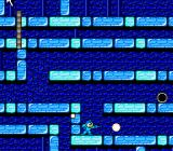 Mega Man 2 NES Flash Man's stage