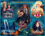 Minds & Mystery: 5 Game Pack Windows The menu for the five games