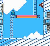 Mega Man 4 NES Ring Man's stage