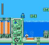 Mega Man 4 NES Dive Man's stage