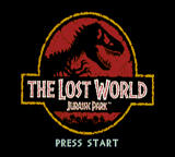 The Lost World: Jurassic Park Game Gear Title