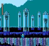 Mega Man 5 NES Crystal Man' stage
