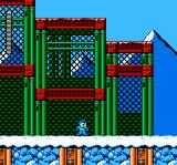 Mega Man 6 NES Blizzard Man's stage