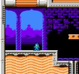 Mega Man 6 NES Flame Man's stage