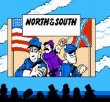 North & South NES Title screen