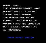 North & South NES The game features several playable scenarios