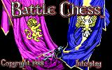 Battle Chess DOS Title screen (EGA)