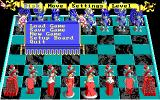 Battle Chess DOS Game Menu (EGA)