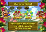 Super Monkey Ball GameCube Character Selection