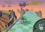 Super Monkey Ball GameCube The backgrounds have a lot of detail.