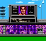 Track & Field II NES All of your athletes are introduced in this manner