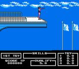 Track & Field II NES High Diving