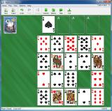 Solitaire Deluxe Windows The size and shape of the game window varies with the game being played. There are lots of game selection and customisation options available via the menu bar
