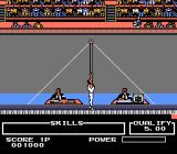 Track & Field II NES The Horizontal Bar