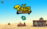 Rabbids Appisodes Android Title screen