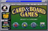 Deluxe Suite: Card & Board Games Windows The game browser main menu