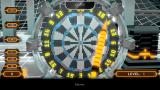Top Darts PS Vita Holding the dart for a throw (Trial version)