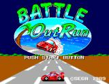 Battle Out Run SEGA Master System Title