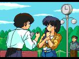 Urusei Yatsura: Dear My Friends SEGA CD Opening cinematic, Ataru tries to get the girl's phone number, much to her dismay