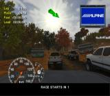4x4 Evo 2 GameCube Racing on a clear autumn morning.