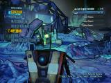 Borderlands: The Pre-Sequel! Windows Main menu - current player character is the claptrap robot.