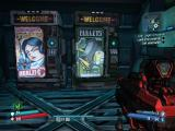 Borderlands: The Pre-Sequel! Windows Some new adverts on the vending machines.