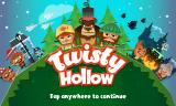 Twisty Hollow Android Title screen