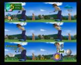 Swingerz Golf GameCube Sometimes you can see your swing split into several smaller animations