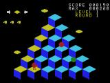 Q*bert SG-1000 Gameplay