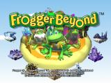 Frogger Beyond GameCube Title Screen