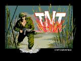 T.N.T MSX Title screen