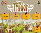 16-bit Trader Linux Title and main menu
