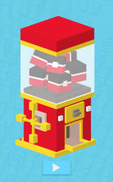 Disney Crossy Road Android This is the gumball machine where you receive presents such as coin bonuses or new characters.