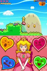 Super Princess Peach Nintendo DS Collect the coins and you can use these ones in the store.