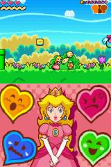 Super Princess Peach Nintendo DS Collecting the ball.