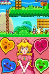 Super Princess Peach Nintendo DS Peach can hit blocks to break them.