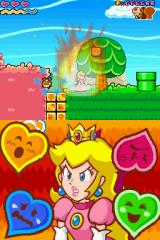 Super Princess Peach Nintendo DS Peach is very angry and she can squash goombas.