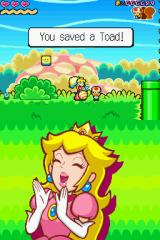 Super Princess Peach Nintendo DS You did it, you found a Toad.