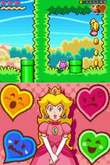 Super Princess Peach Nintendo DS Big coins are more worthy than normal coins.